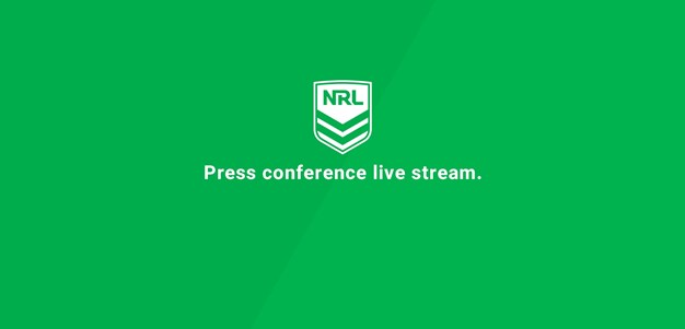 Press Conference: Rabbitohs v Wests Tigers - Round 9, 2020