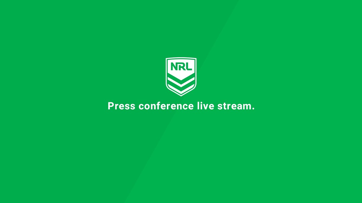 Press Conference: Roosters v Sharks - Round 19, 2020
