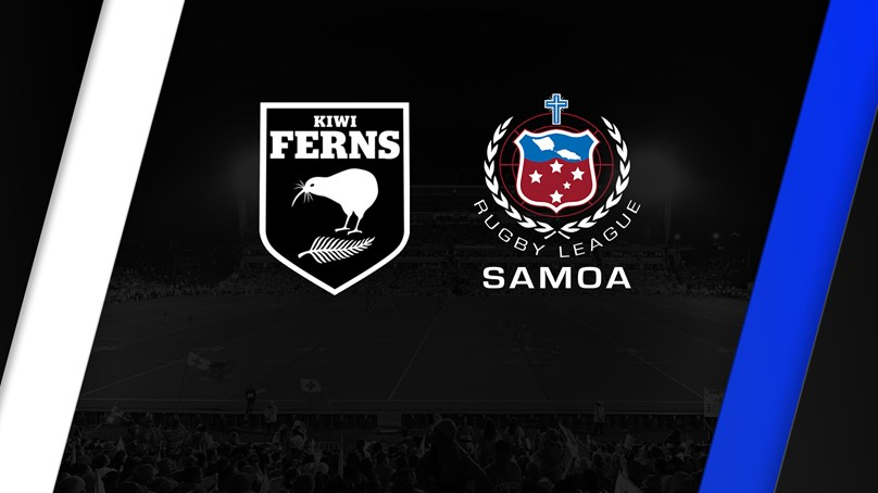 Full Match Replay - Kiwi Ferns v Samoa