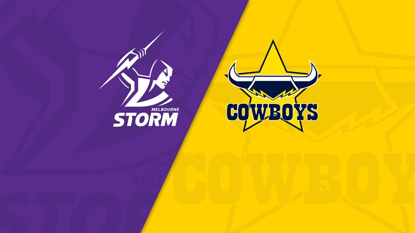 NRL Trials: Storm v Cowboys