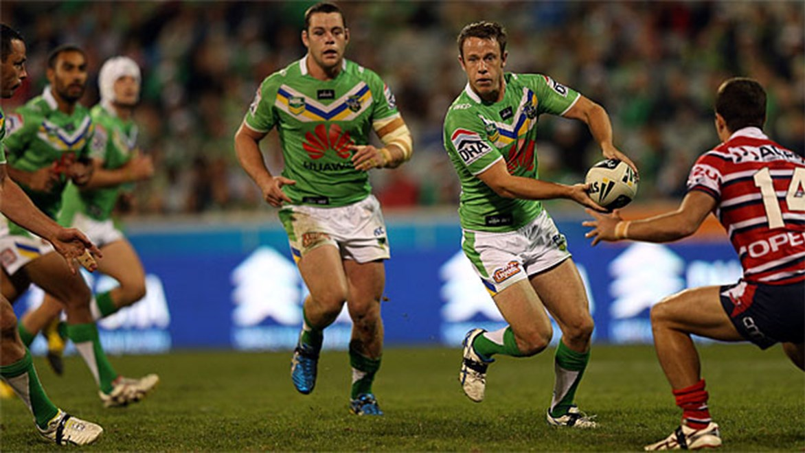 Raiders halfback Sam Williams knows the return of Terry Campese places added pressure on him to perform to his best