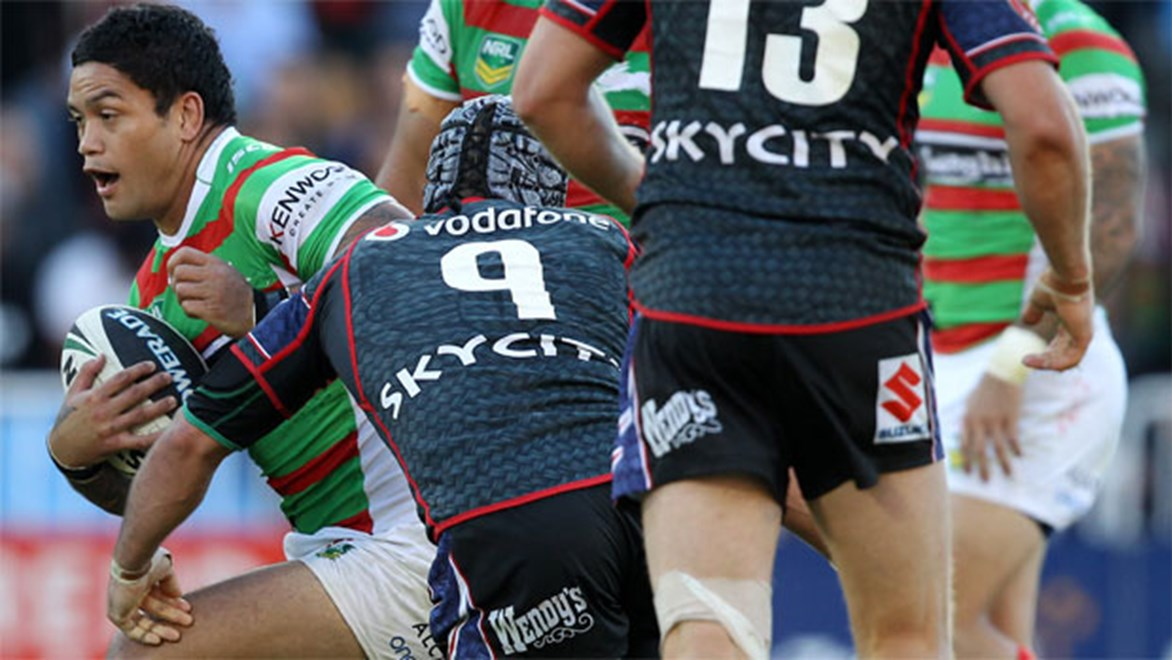 Ryan Hinchcliffe says the Storm are particularly worried about the damage hooker Issac Luke can do for the Rabbitohs.