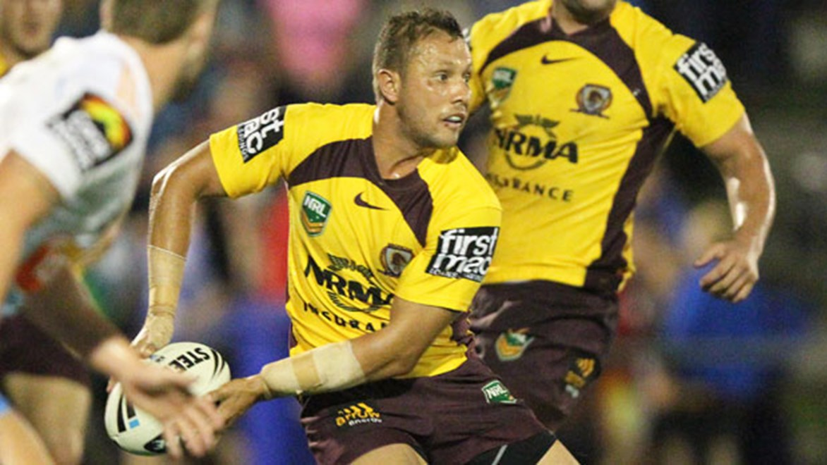 Brisbane's Scott Prince is not guaranteed a start against Canterbury on Friday