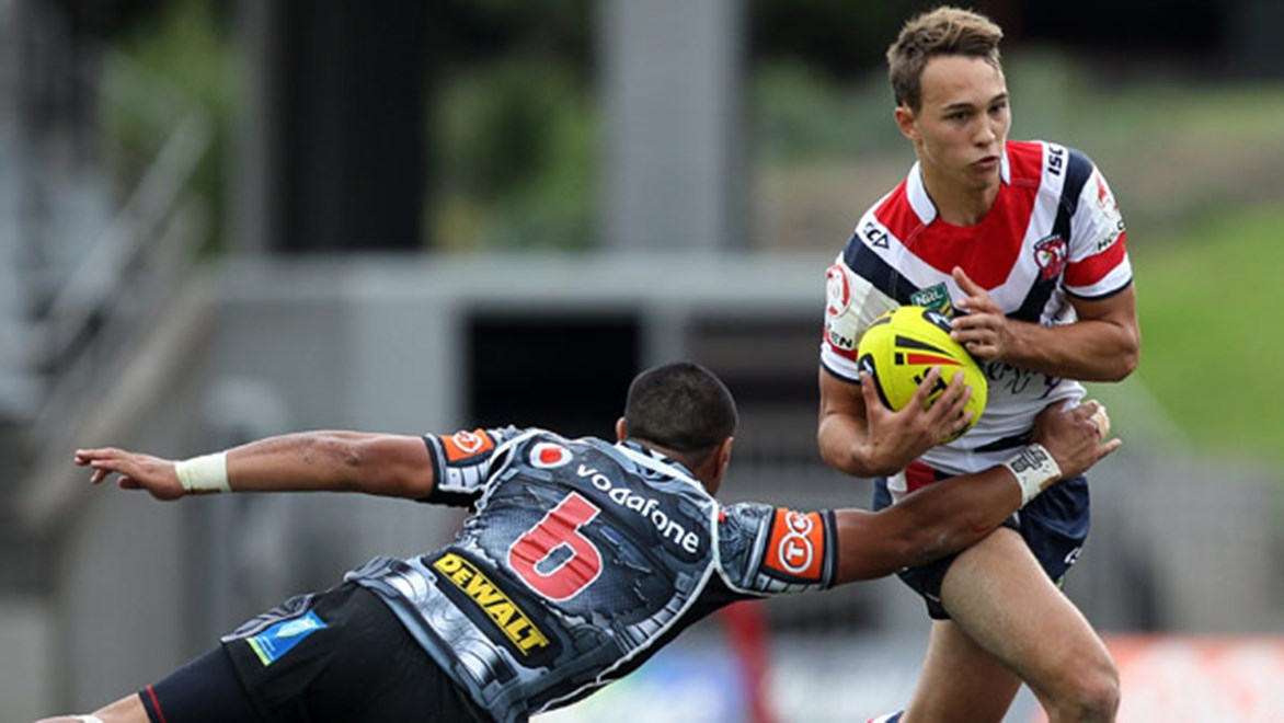 Roosters fans will be hoping under-20s halfback Tyler Cornish can keep his good form going against top-of-the-ladder Penrith on Sunday – the No.7 set up three tries against the Dragons last week.