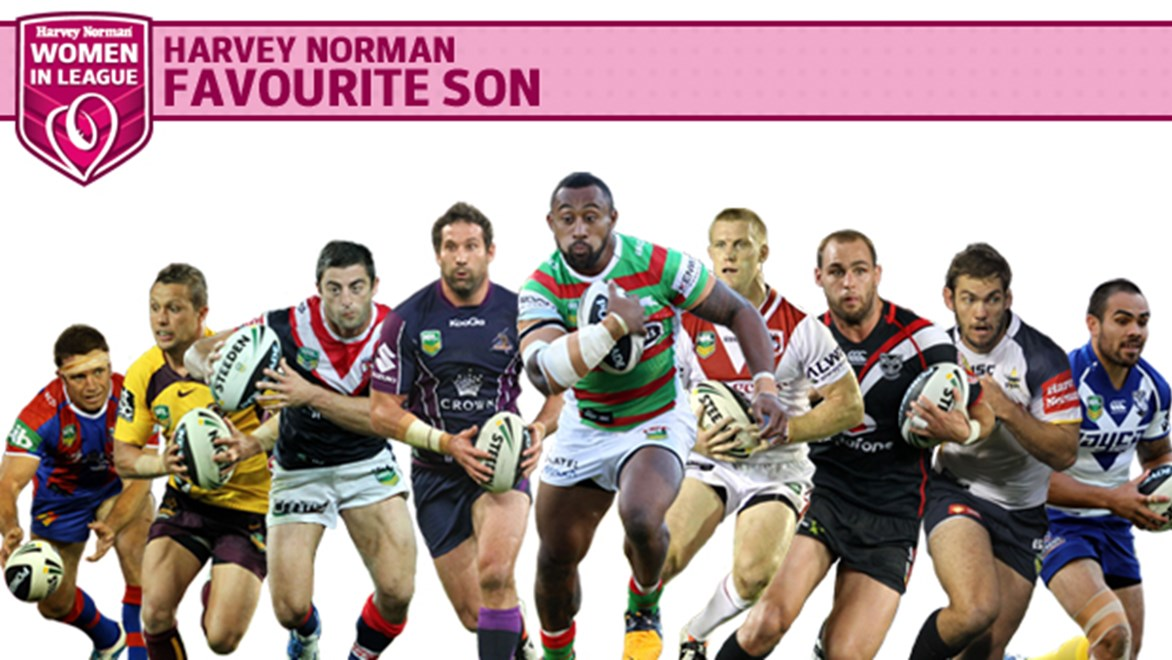 Who will be the Havey Norman Women in League Favourite Son?