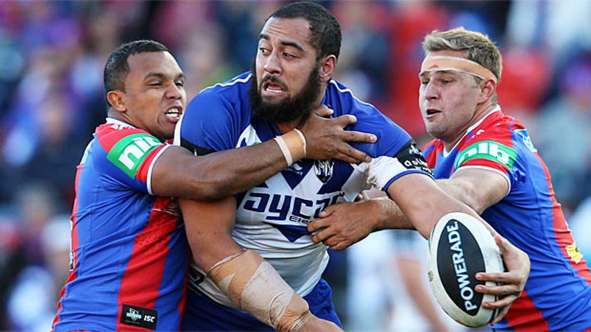 The Warriors must contend with the presence of Sam Kasiano in Saturday night's game