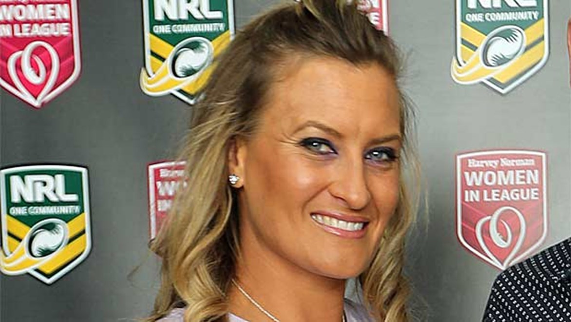 Ruan Sims has been selected for the Jillaroos Women's Rugby League squad to take on the Kiwis at the 2013 Festival of World Cups