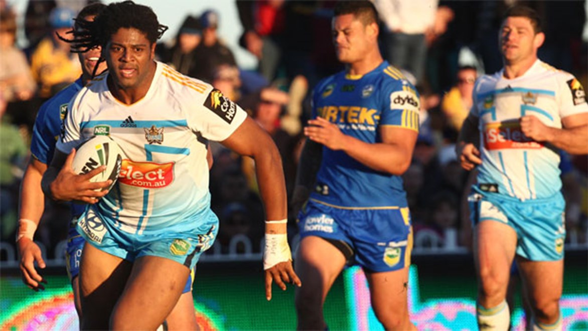 "In-form centre Jamal Idris says he gets disappointed after every game – win lose or draw – because of the lengthy wait until the Titans' next clash; ""There's no better feeling than seeing thousands of fans cheering for you,"" he says."