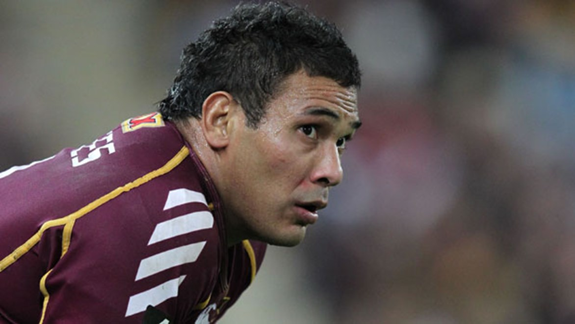 Broncos coach Anthony Griffin will need to carefully manage the workload of his Queensland Origin stars including Justin Hodges over the coming six weeks.