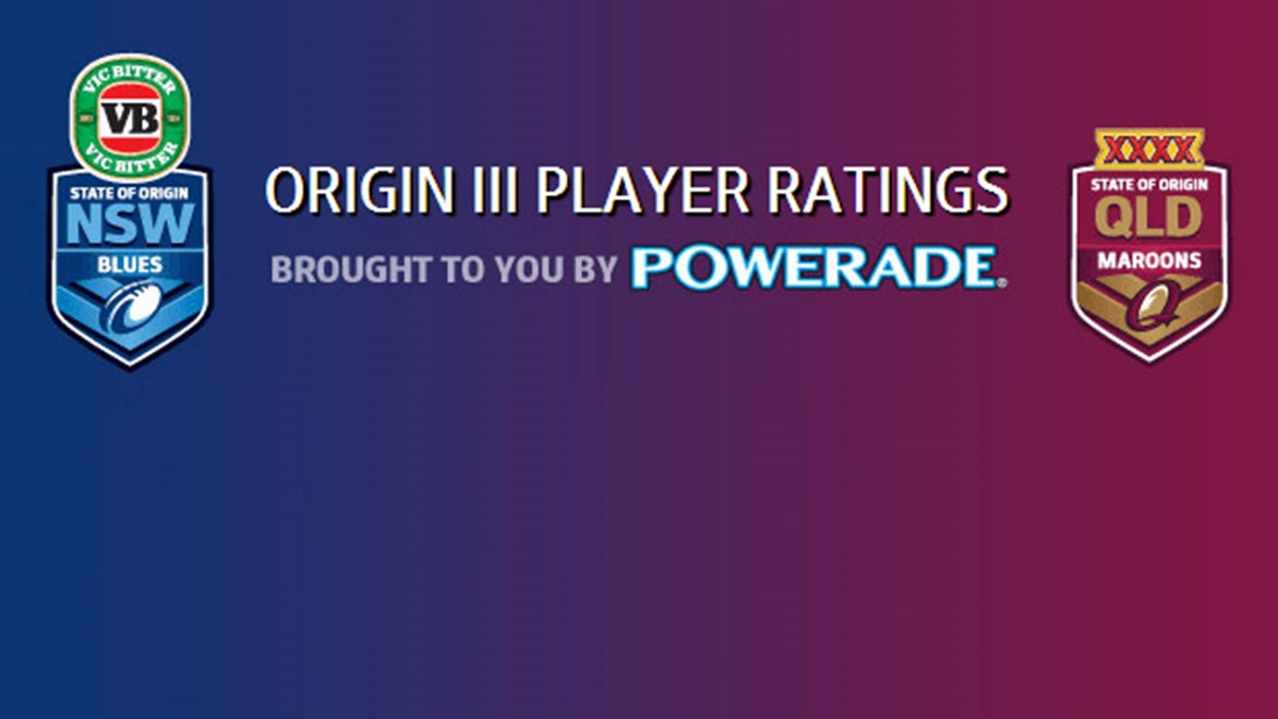 Visit NRL.com straight after the game for our expert player ratings and reviews.