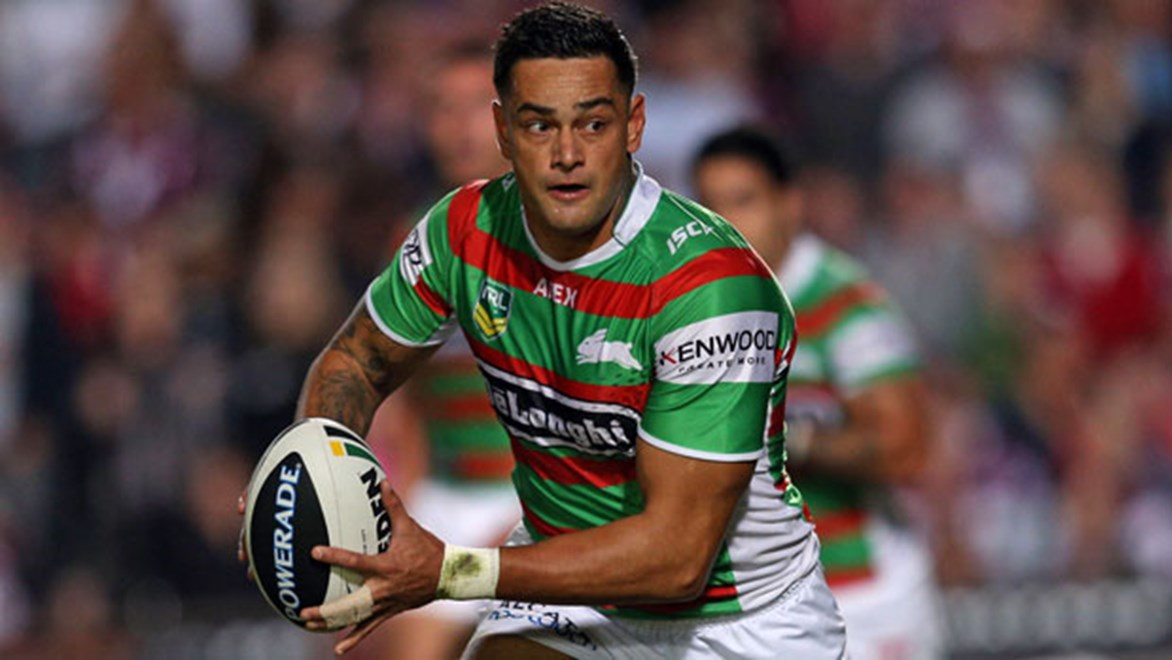 John Sutton credits halves partner Adam Reynolds for the form that sees him lead all other NRL five-eighths in attacking stats.