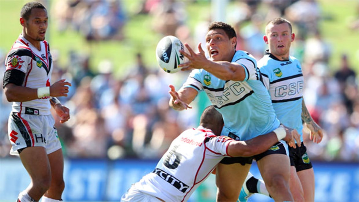 Recently re-signed through 2015, talented back-rower Anthony Tupou believes the Sharks have a realistic chance of a premiership over the next three years – and quite possibly as early as 2013.