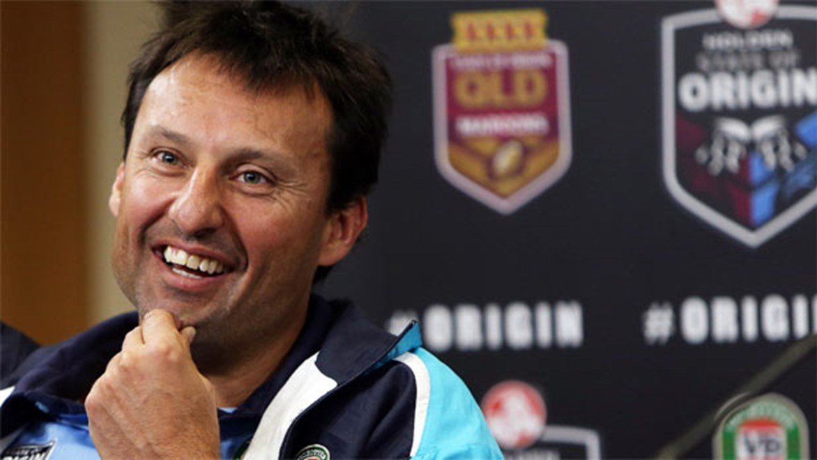 The moment of truth has finally arrived for NSW coach Laurie Daley