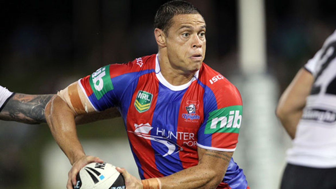 Timana Tahu's presence for Newcastle will ensure the Dogs face a stern test at Belmore Sports Ground on Saturday.