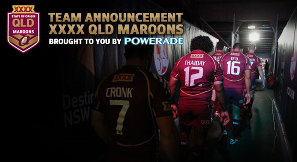 Queensland are sticking with the same 17 for the decider.