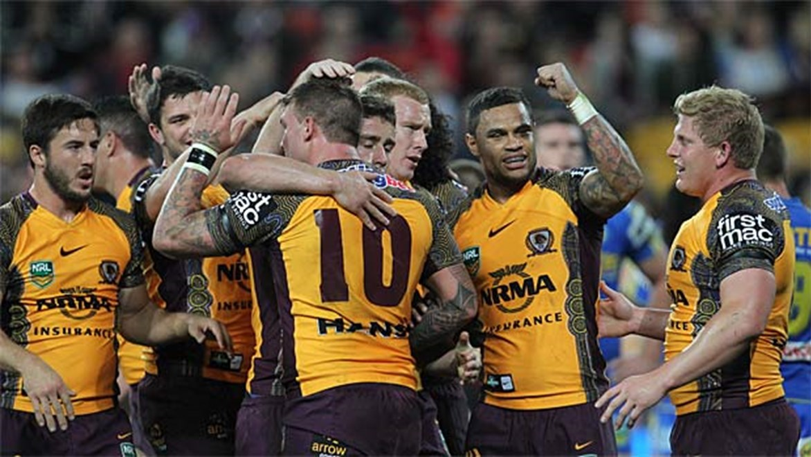 Brisbane are still in finals contention after their convincing 22-12 win over Parramatta