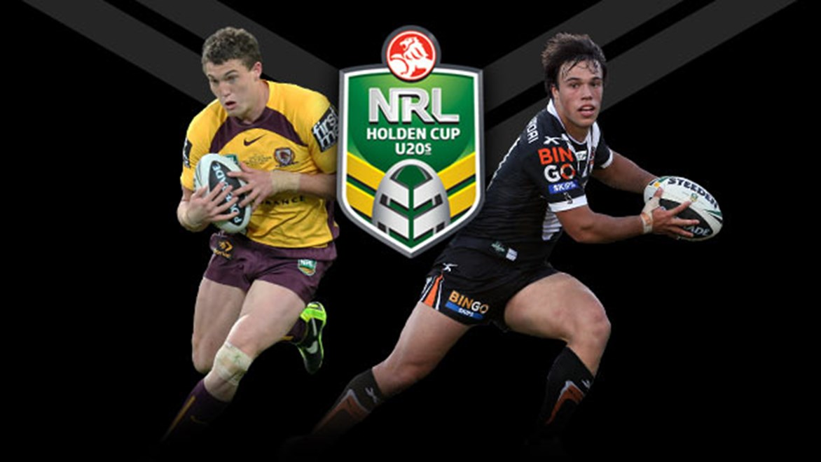Corey Oates and Luke Brooks are two of the young stars named in the 2013 Holden Cup Team of the Year.