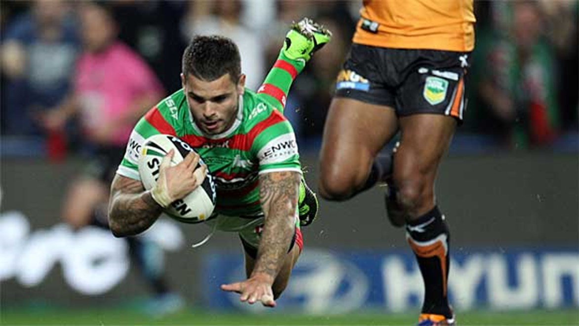 South Sydney have completely controlled the second half to down Wests Tigers