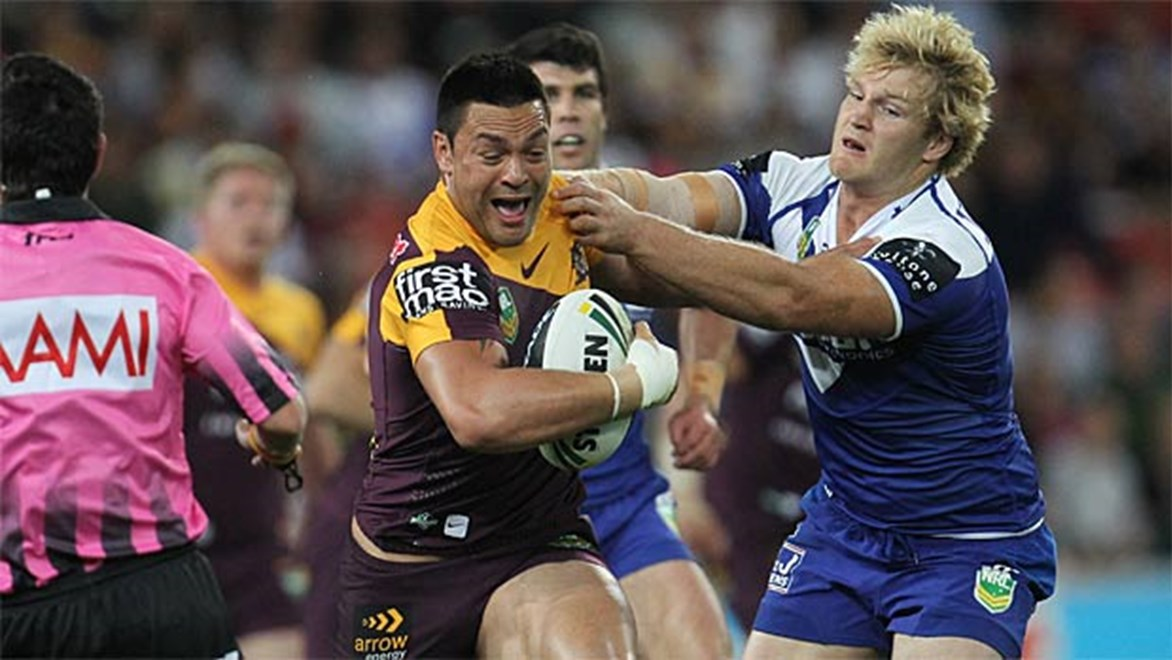 Brisbane have prevailed over Canterbury in a spirited end to their season