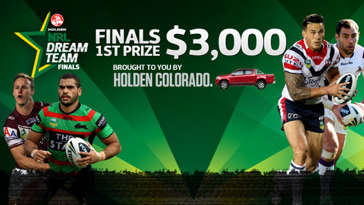 Play Holden NRL Dream Team Finals for your chance to win $3,000