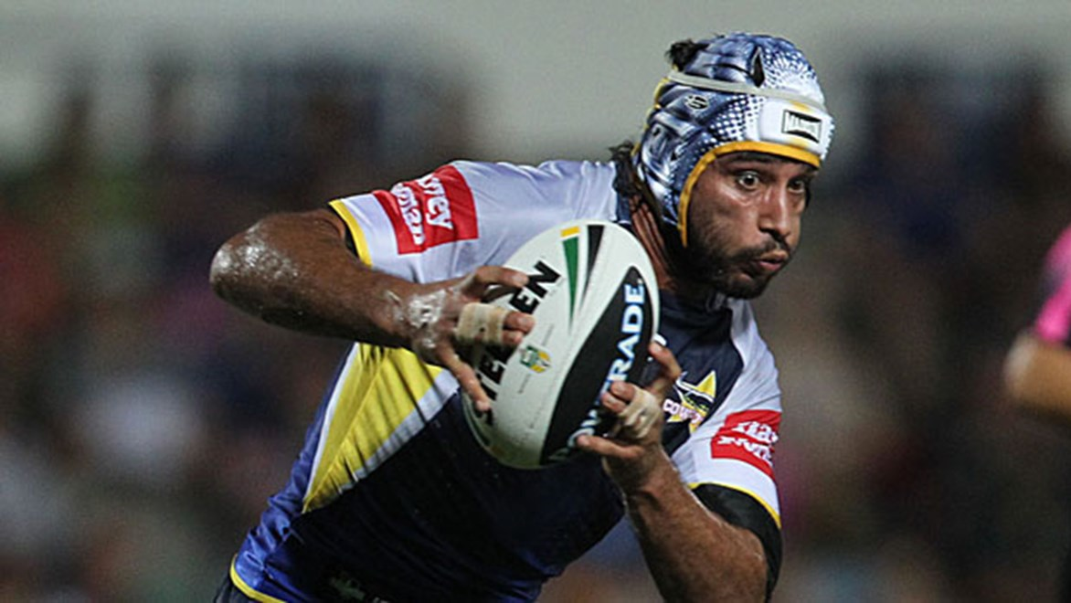 The head-to-head battle between Johnathan Thurston (pictured) and Todd Carney holds the key to the Cowboys v Sharks clash.