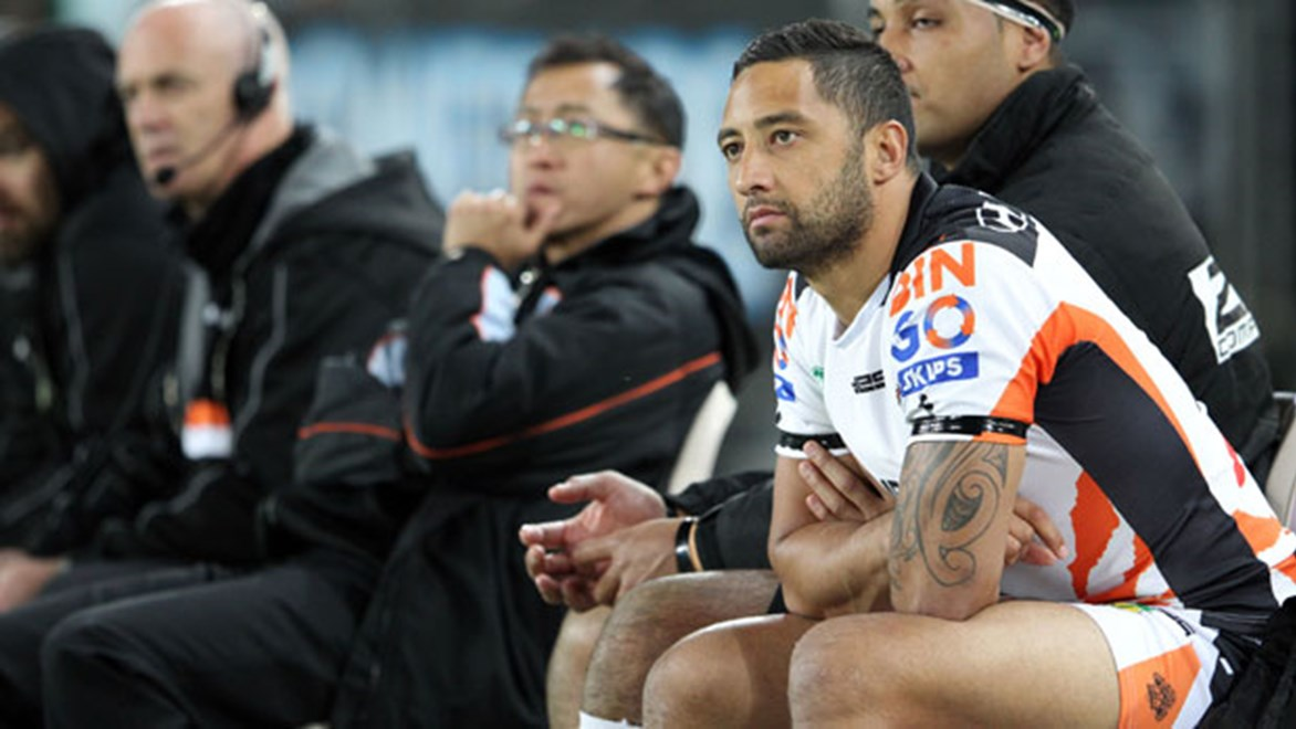 Benji Marshall decided to call time on his NRL career soon after being benched by new coach Mick Potter and with an upgrade to his contract refused.