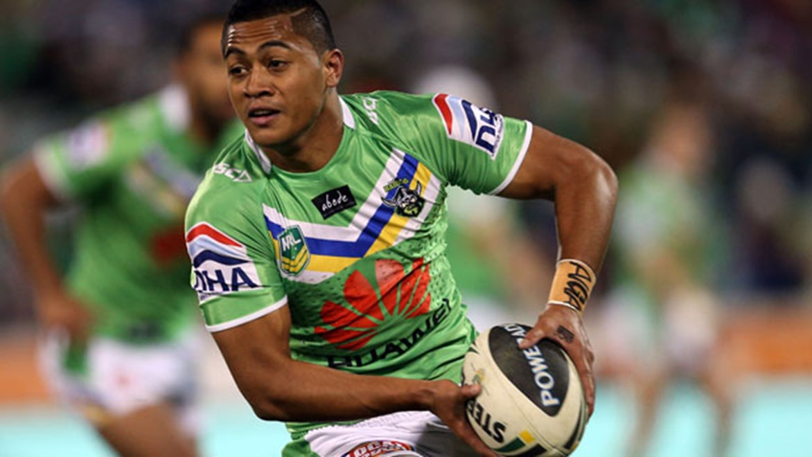 Anthony Milford won the Mal Meninga Medal for Best & Fairest Canberra player in 2013 - but will the rookie star be in Raiders colours in 2014?