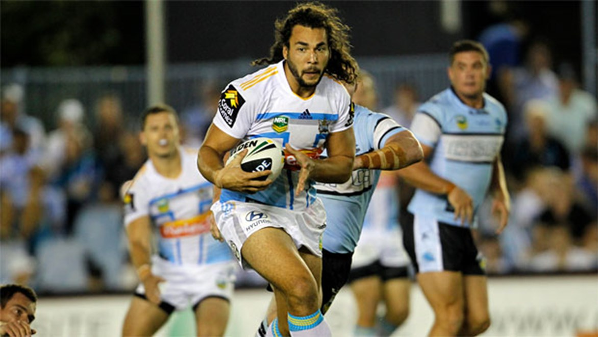 Young prop Ryan James is one of four players from the Gold Coast Titans to be named in Prime Minister's XIII squad to take on Papua New Guinea