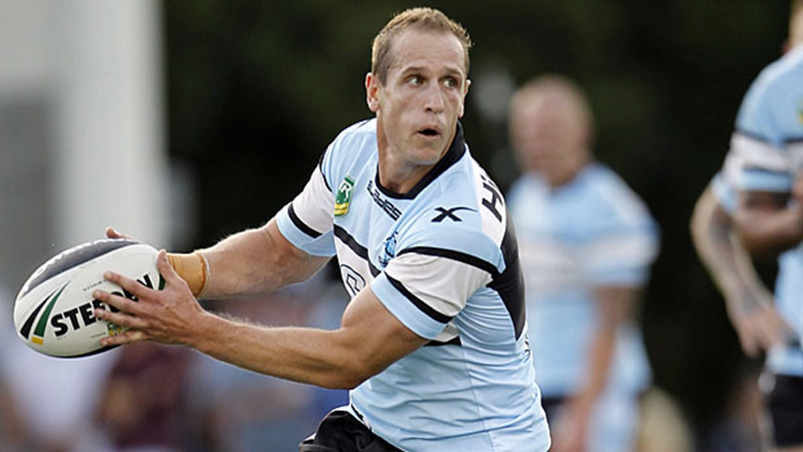 Jeff Robson knows he needs to shoulder a lot of the playmaking duties against Manly given Todd Carney's absence through injury.