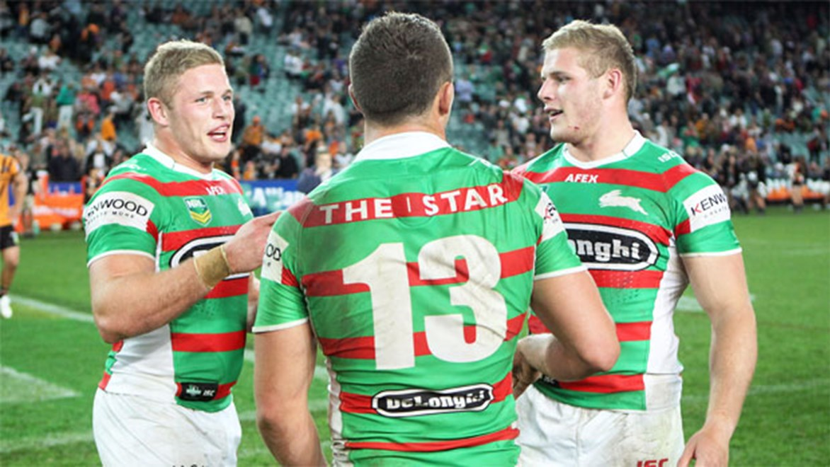 The Burgess brothers formed the basis of one of the strongest forward packs in the NRL in 2013.