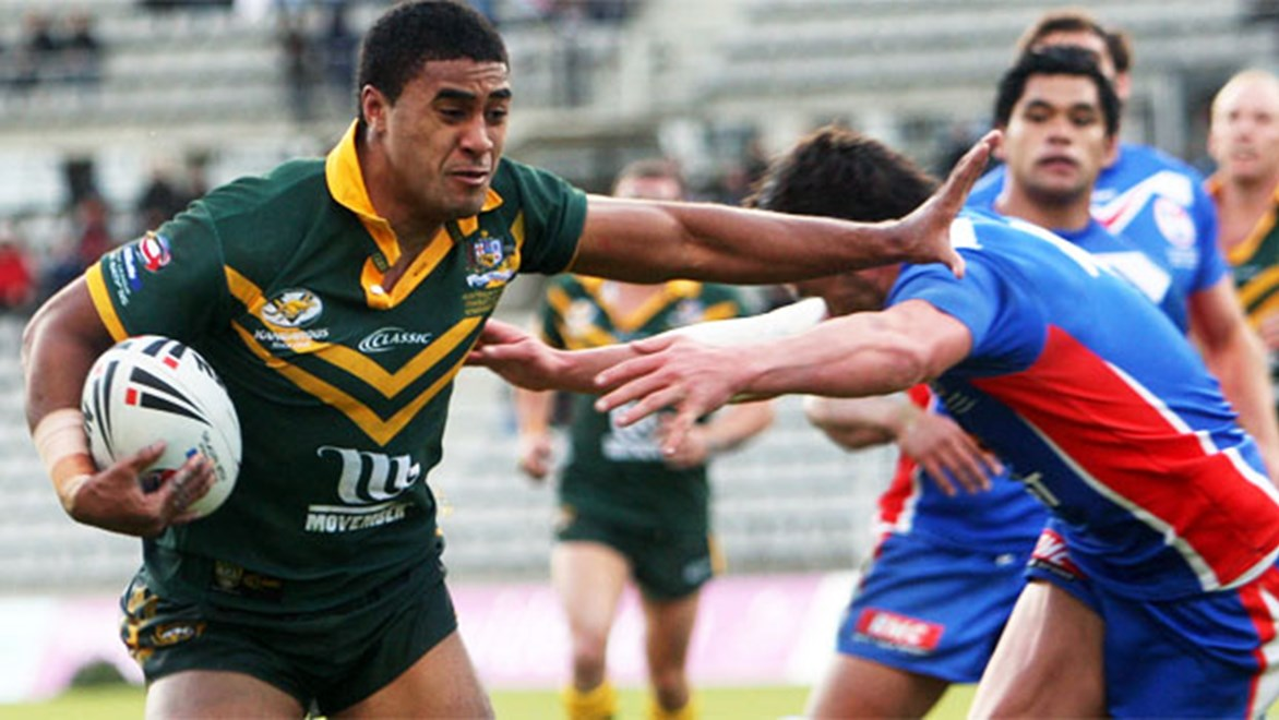 Michael Jennings is one of two Roosters to be selected in Australia's World Cup squad.