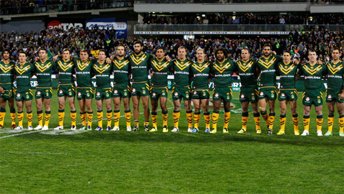 The Kangaroos start their World Cup campaign against England and will be keen to end it with a win over the Kiwis.