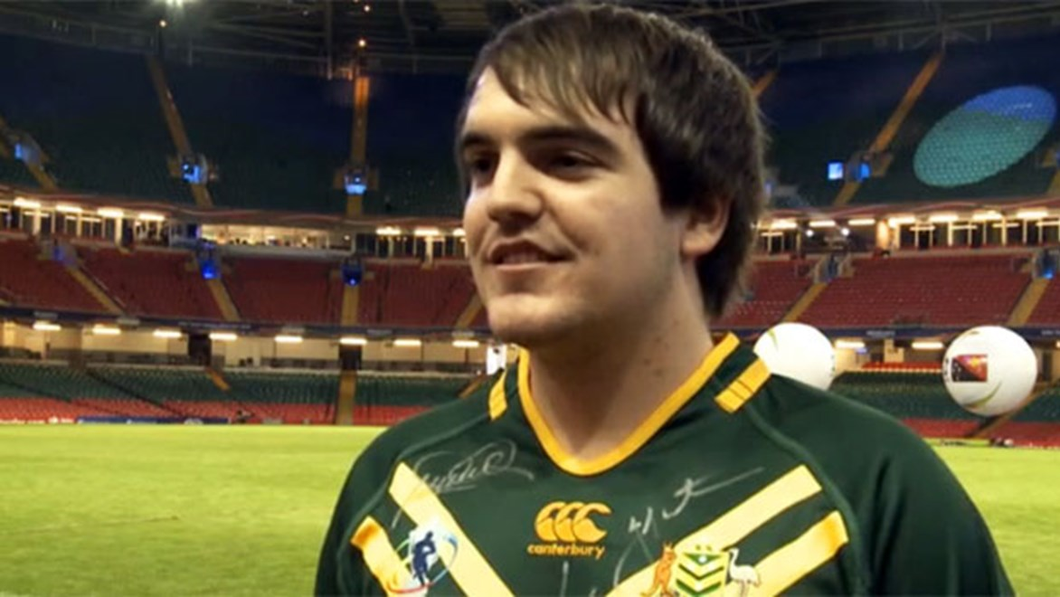 2013 Holden NRL Dream Team champion Daniel Long is having the time of his life in the UK with Australia's World Cup squad.