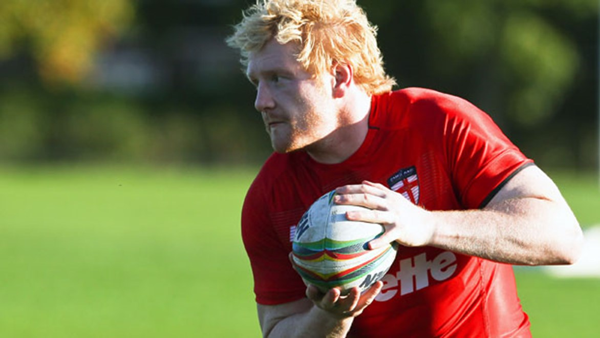 James Graham returns to England's lineup for their clash with Ireland.