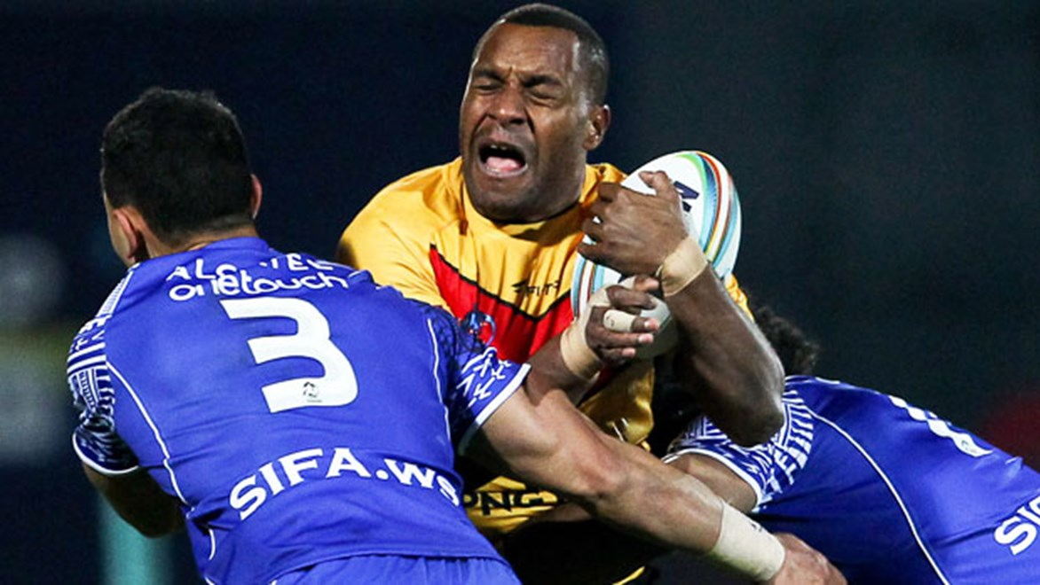 Papua New Guinea's Cup campaign is on the ropes after losing to Samoa 38-4.
