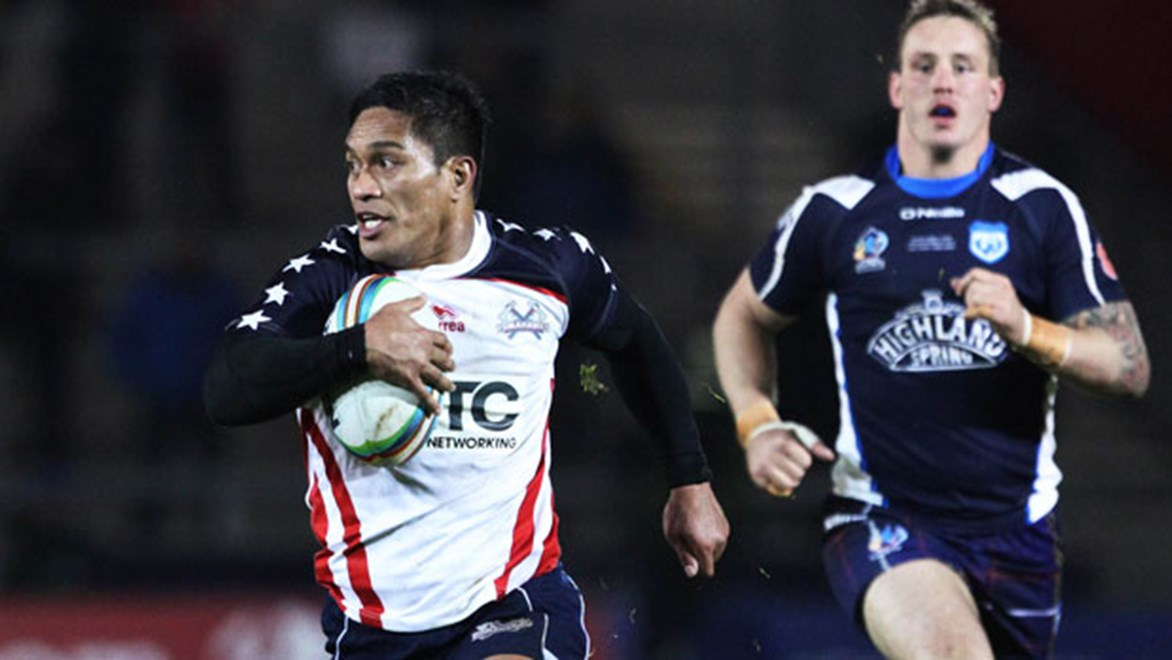 The USA Tomahawks are preparing to play Australia after suffering their first loss of the World Cup against Scotland.