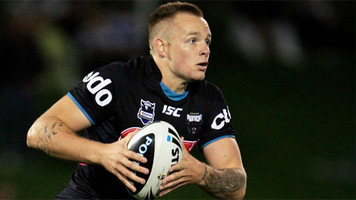Blake Austin is hoping to make his mark on his new club after switching from the Panthers to the Tigers for 2014.