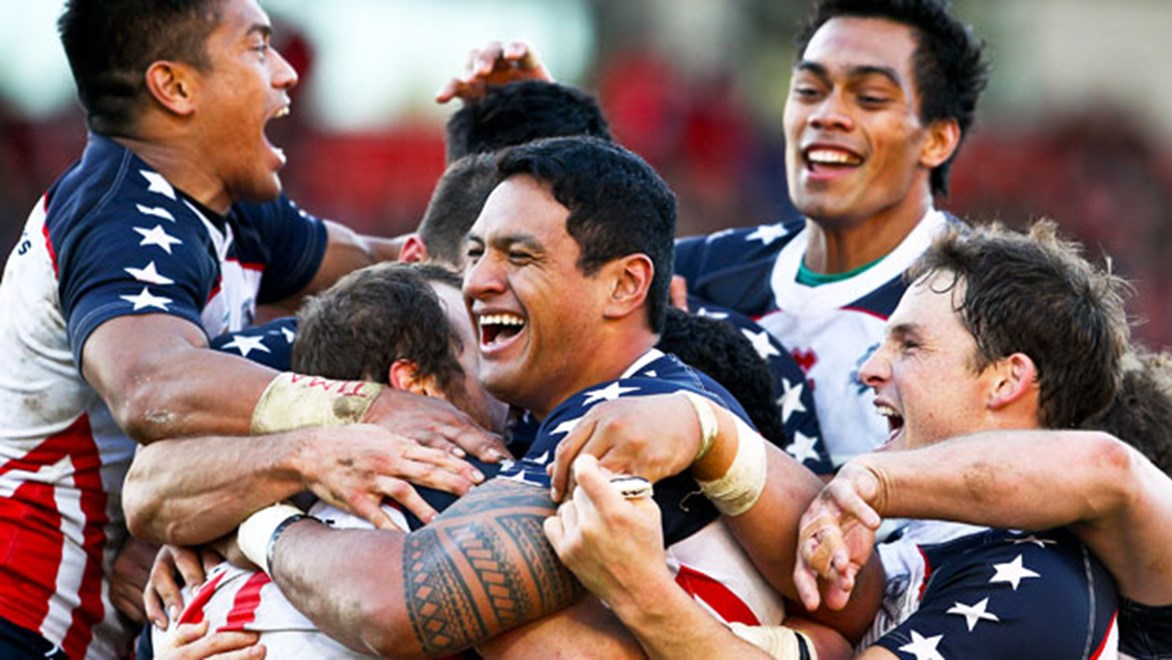 The USA Tomahawks have been the fairytale story of the 2013 Rugby League World Cup, but can they spread the game back home?