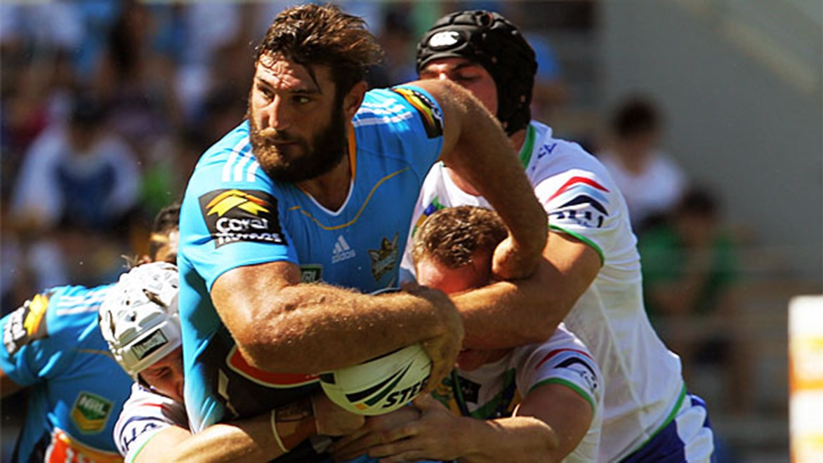 Dave Taylor could become the best player in the game, according to Titans teammate Aidan Sezer.