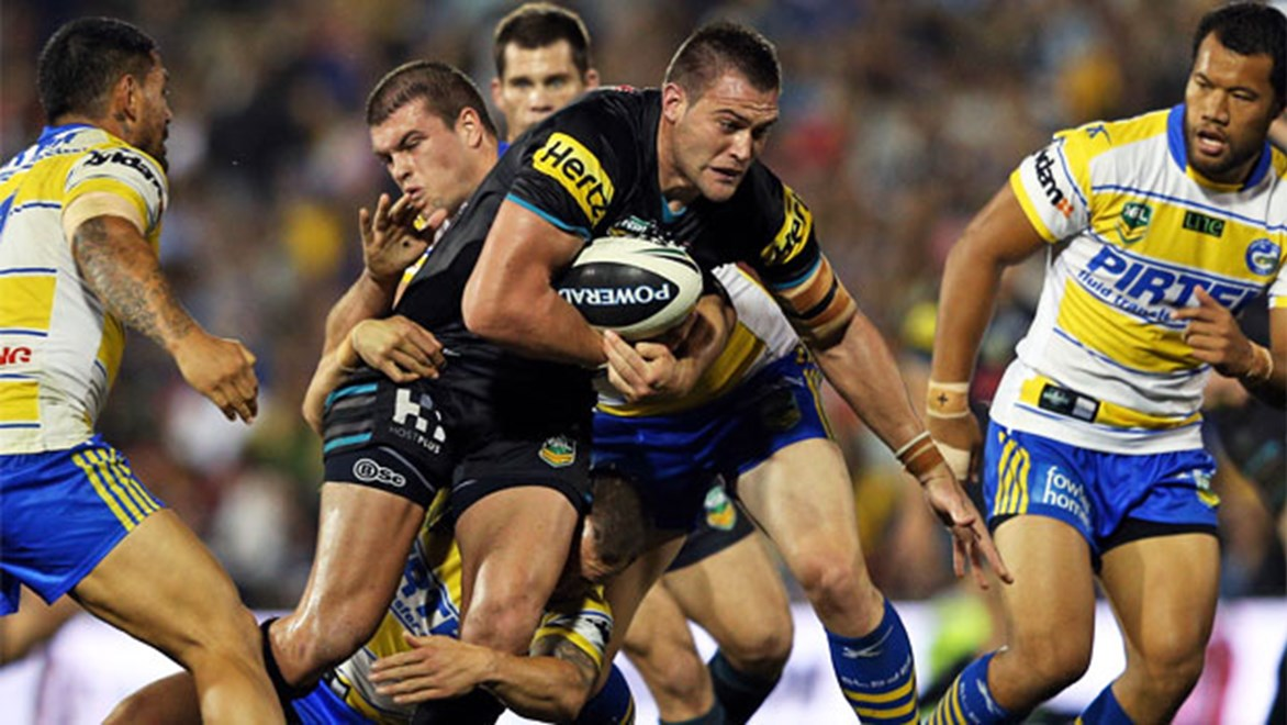 The battle with an improving Parramatta will be one of the Panthers' big grudge matches next season.