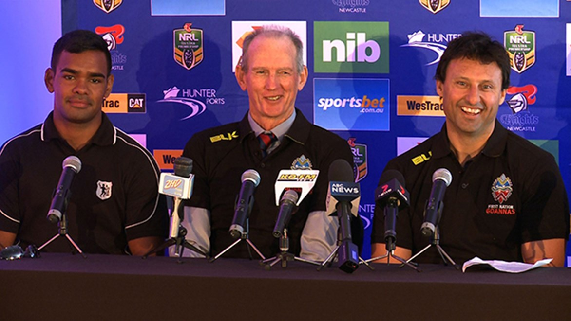 Wayne Bennett and Laurie Daley launched the Festival of Indigenous Rugby League.