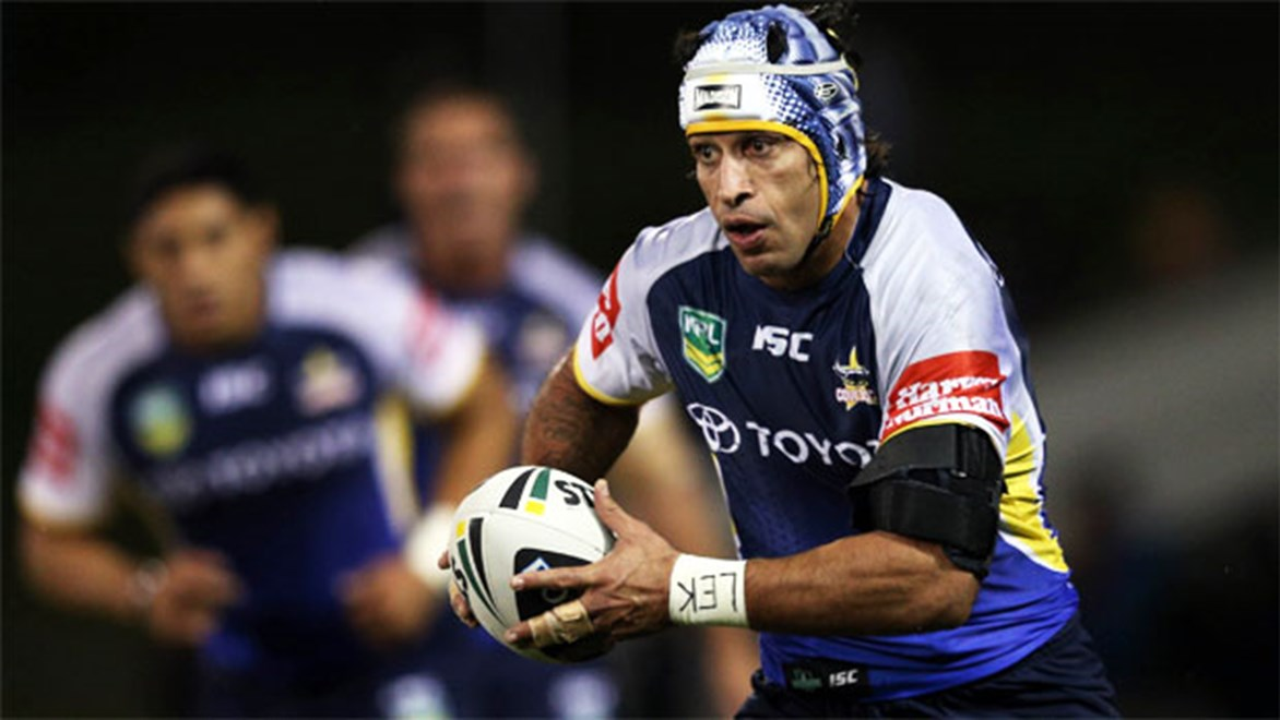 Will Johnathan Thurston be one of North Queensland's stars at the Auckland Nines?
