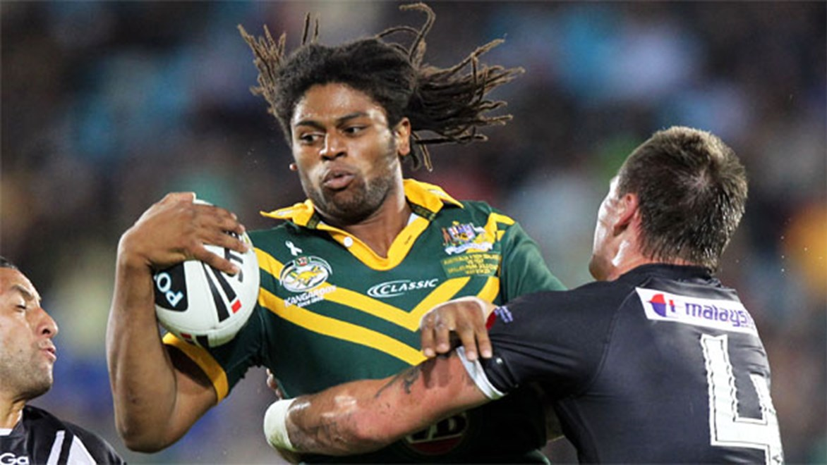 Star centre Jamal Idris is a huge signing for the Panthers in 2014.