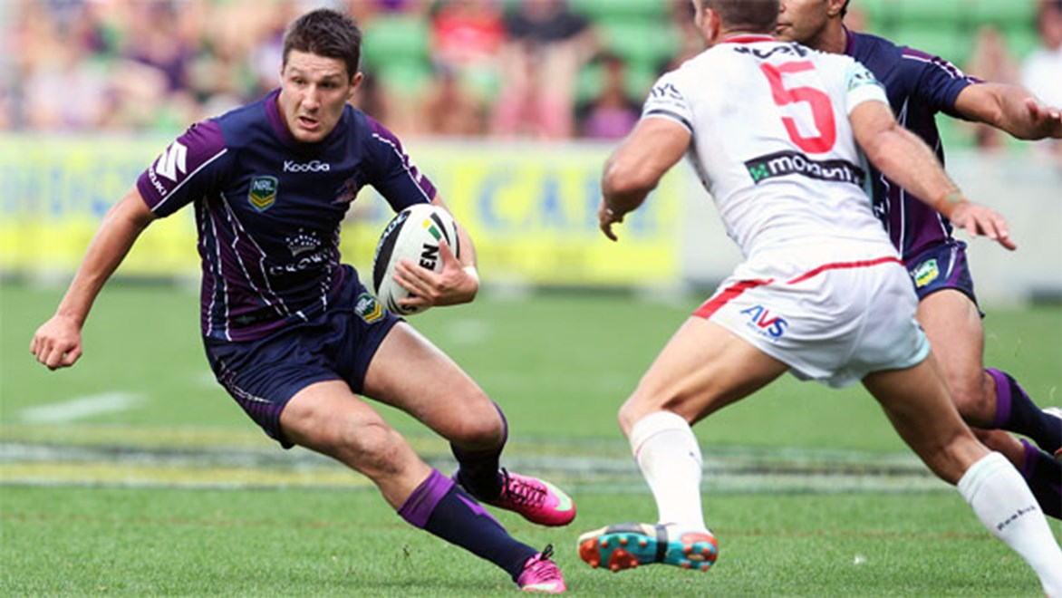 Ex-Storm star Gareth Widdop will carry a lot of responsibility on his shoulder in his first season in Dragons colours.