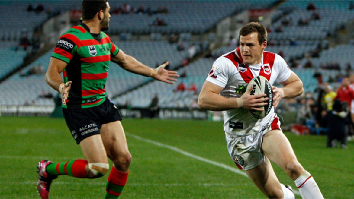 The 2014 Charity Shield between St George Illawarra and South Sydney will be played in Wollongong.