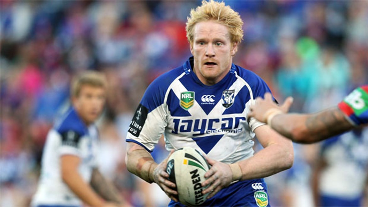 Star England prop James Graham will be leading from the front again for the Bulldogs this season.