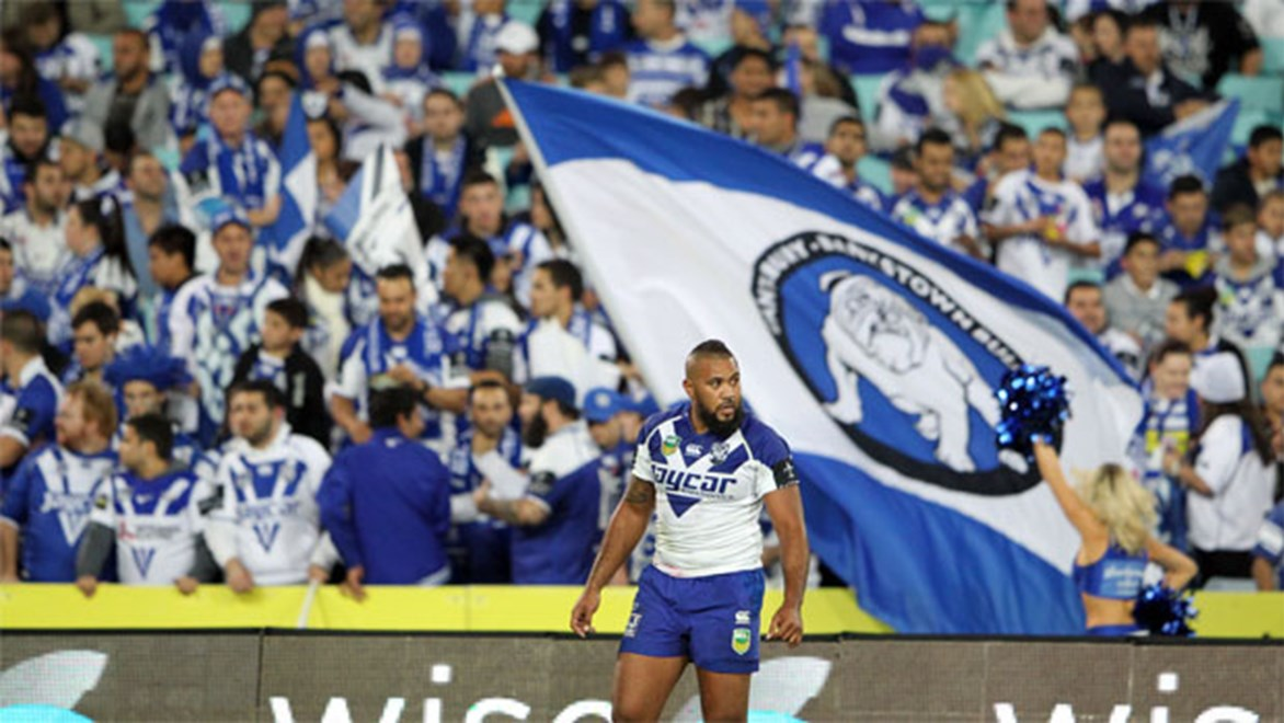 New Bulldogs skipper Frank Pritchard has played 213 NRL games in 11 seasons, more than co-captain Michael Ennis.