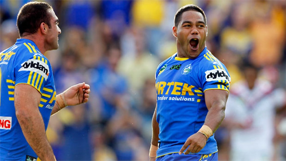 Chris Sandow says his problems are behind him as he prepares to get back to his best in the 2014 NRL season.