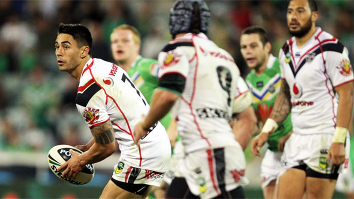 Can Shaun Johnson become a consistent playmaker for the Warriors this season? Copyright: Renee McKay/NRL Photos.
