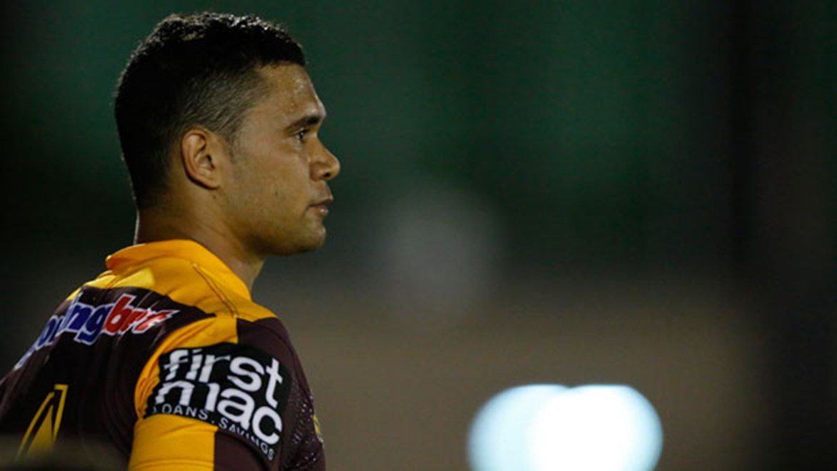 Jharal Yow Yeh's return to the Broncos was a triumph of courage and determination. Copyright: Charles Knight/NRL Photos
